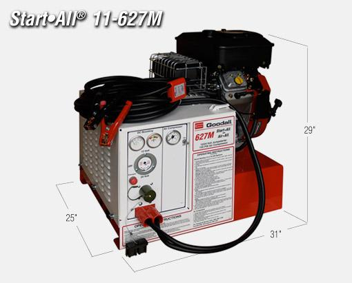 Goodall 11-627M Jump Starter and Air Compressor