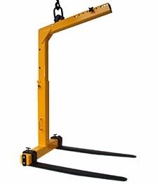 Kinshofer KM420 Roofers Pallet Fork - Tall
