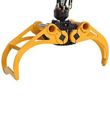 Kinshofer KM 613 HPX Heavy Duty Rock Grapple