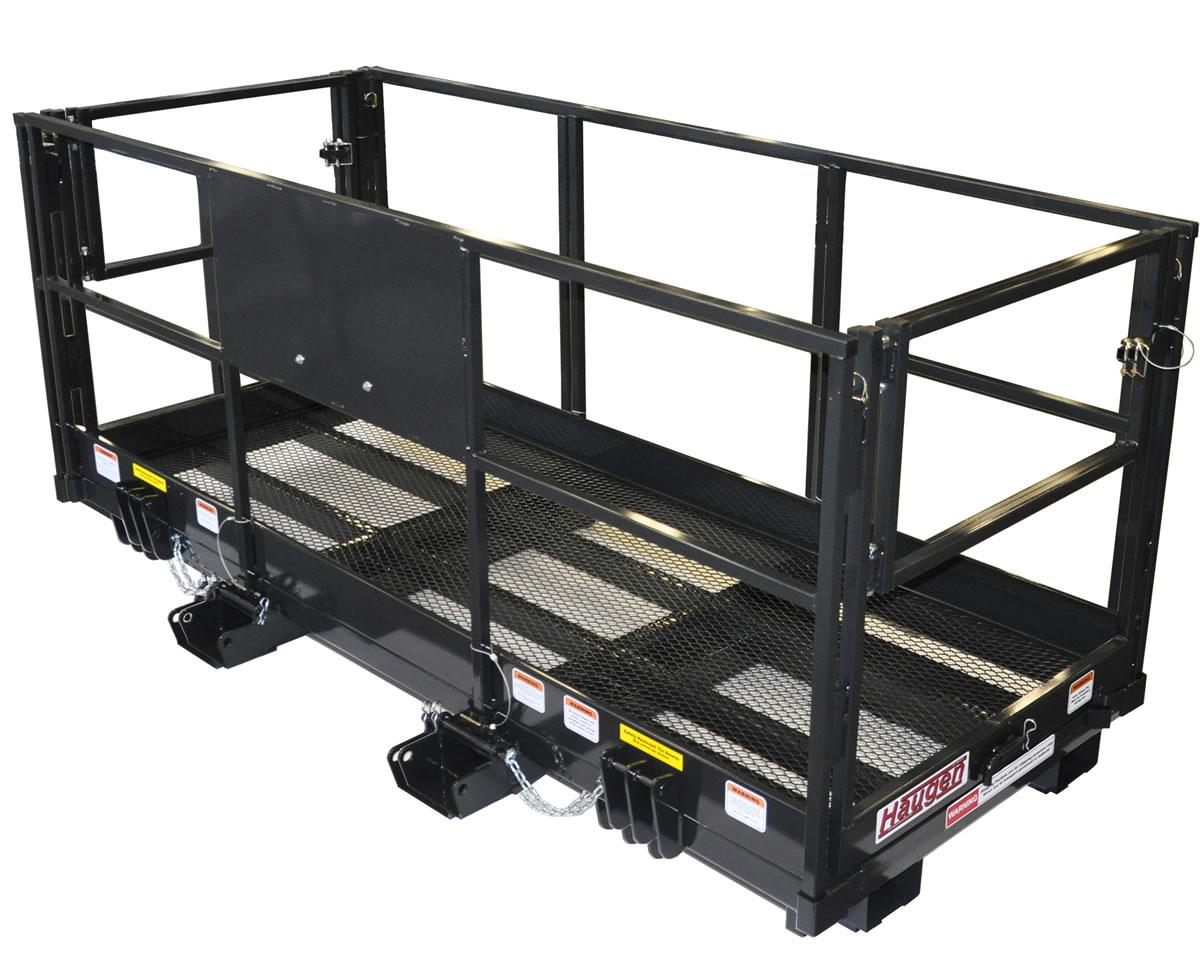 Haugen Aerial Work Platform for Forklifts and Telehandlers - 4 X 116 Shown