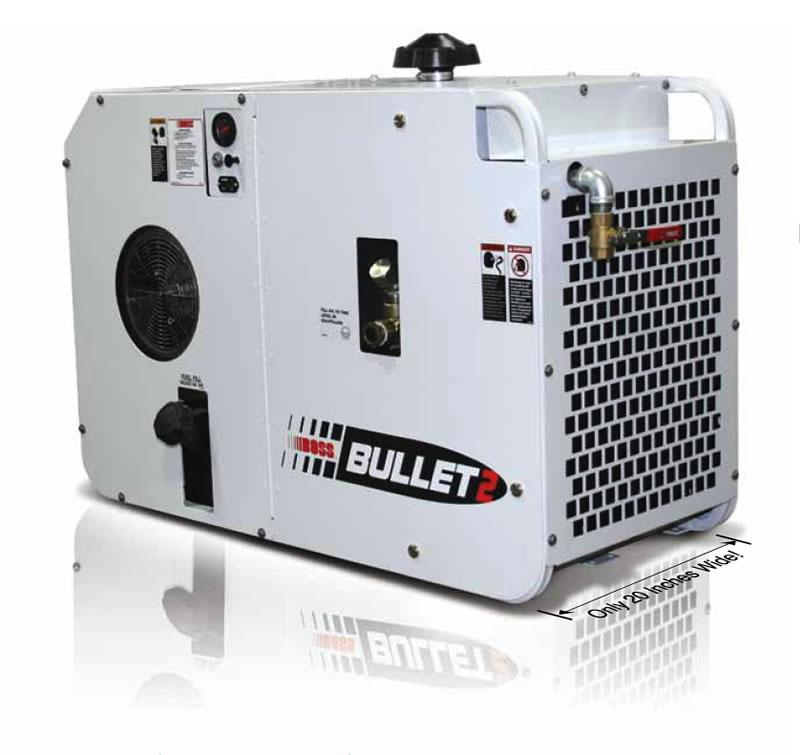 Boss Bullet 2k Gas Powered Rotary Screw Air Compressor
