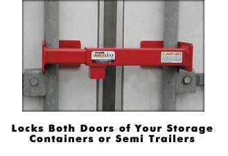 Cargo Door Locks For Jobsites