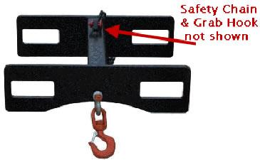 Heavy Duty Lift Hook - 6000 Lb. Cap. - SI-1366
