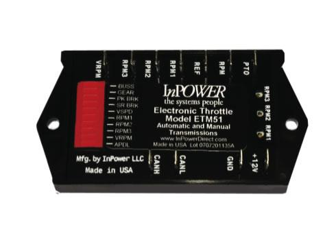 InPower ETM51 Fast Idle Electronic Throttle Speed Control For Ford trucks