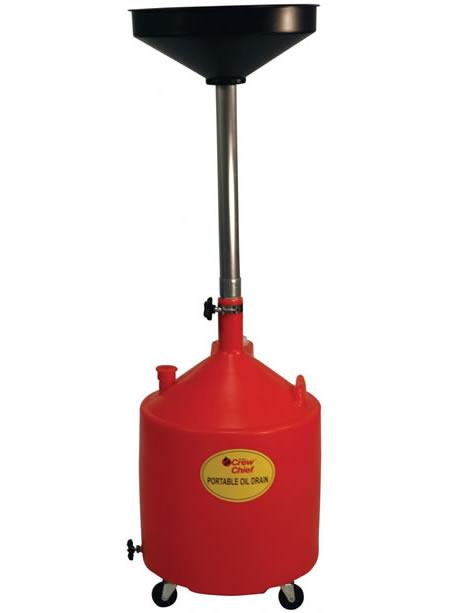 John Dow - JDI-18DCP - 18 Gallon Portable Oil Drain