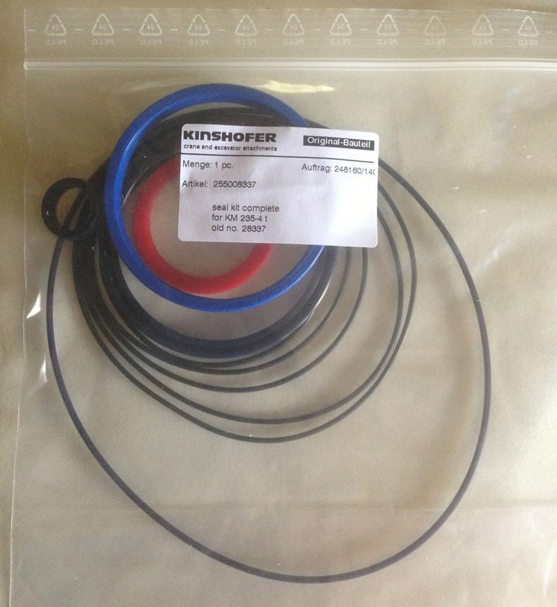 Kinshofer KM235-20-3000 Rotator Seal Kit - Kinshofer 255008337