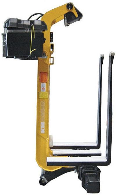 Kinshofer KM461B Drywall Forks - Battery Powered