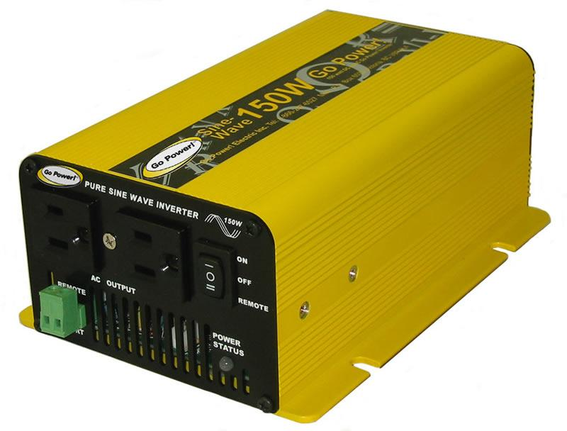 Pure Sine Wave Inverter - 150 Watts - 24 V