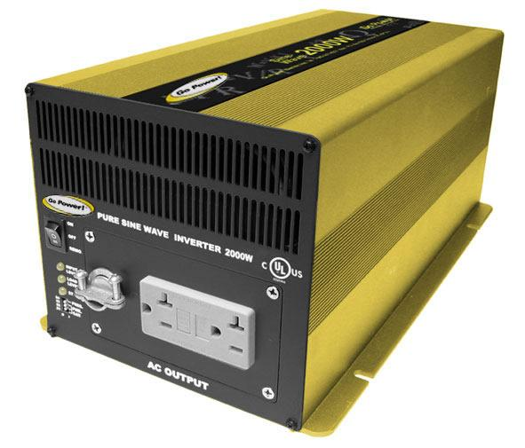 2000 Watt Pure Sine Wave Inverter-12V