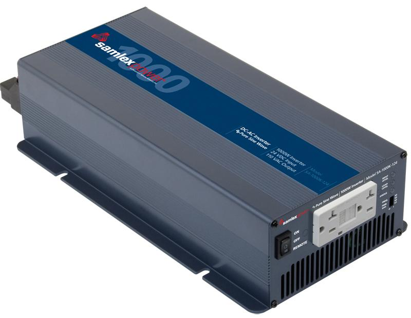Samlex 1000 Watt True Sine Wave Inverter - 24 Volt