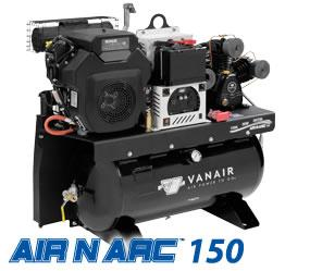 Vanair Air-N-Arc 150 - All-In-One Power System - 050680