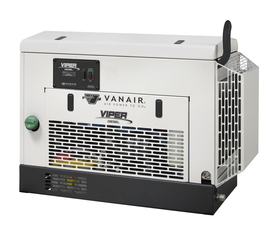 Vanair Viper D60 Diesel Rotary Screw Air Compressor - Factory Refurb