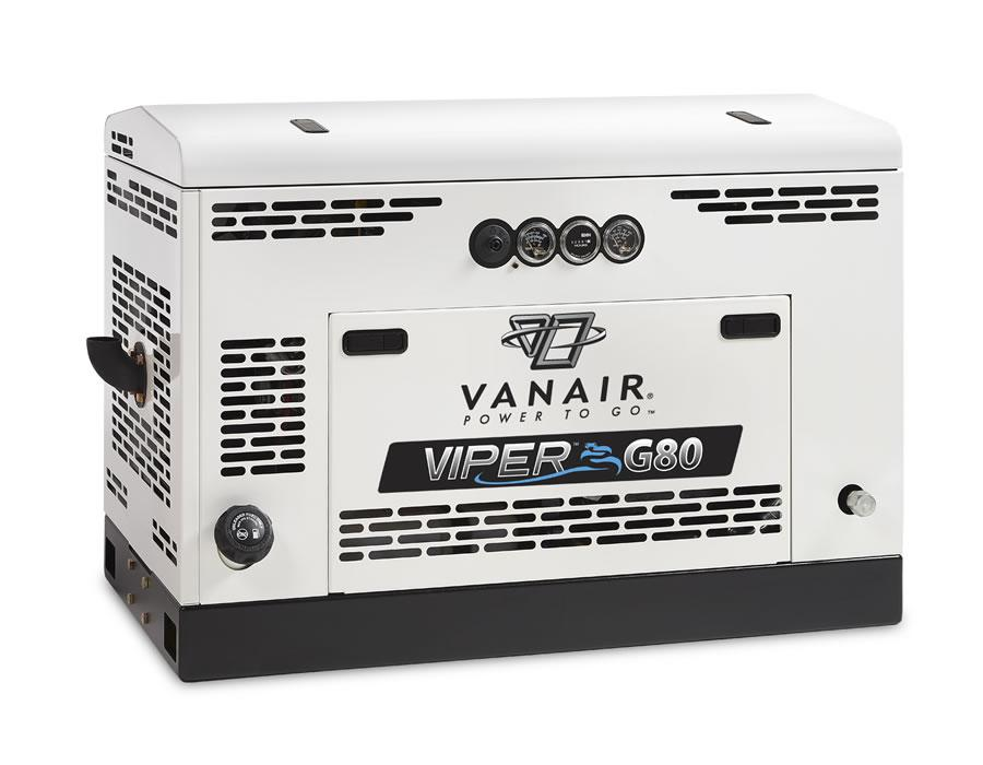 Vanair Viper Gas G60-150 Gas Powered Rotary Screw Air Compressor