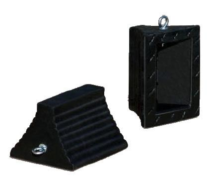 Rubber Wheel Chocks For Trucks - Sold Individually